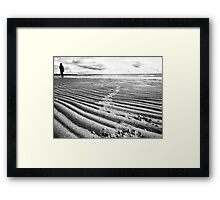 Lonely Beach (near geelong) Framed Print