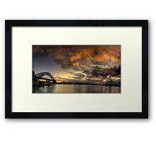 Morning Aria - SydneyHarbour,Sydney Australia - The HDR Experience Framed Print