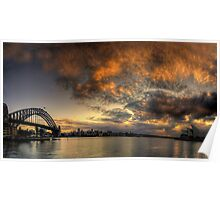 Morning Aria - SydneyHarbour,Sydney Australia - The HDR Experience Poster