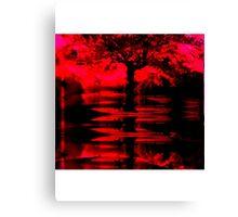 red tree Canvas Print