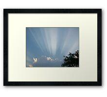 sky Framed Print