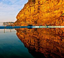 Mirrors - Morning Bilgola Reflections by kathrynsview