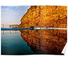 Mirrors - Morning Bilgola Reflections Poster