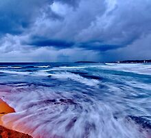 Surreal - North Narrabeen Beach by kathrynsview