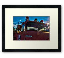 Big Old Firetruck  Framed Print