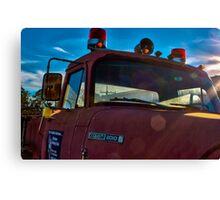 Big Old Firetruck  Canvas Print