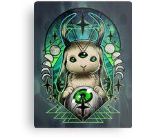 Space Bunny  Metal Print