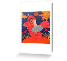 Frida's Flight Greeting Card