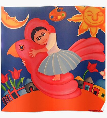 Frida's Flight Poster