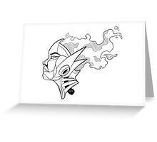 Fire thoughs Greeting Card
