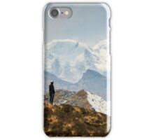 Looking at the Himalayas iPhone Case/Skin