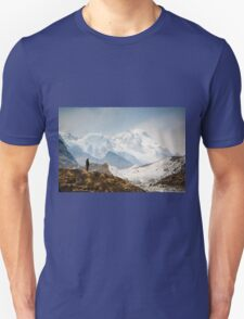 Looking at the Himalayas Unisex T-Shirt