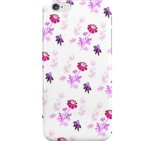 Wildflowers and Berries (violet) iPhone Case/Skin