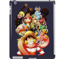 one piece punk hazard luffy zoro straw hat crew anime manga shirt iPad Case/Skin