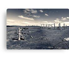Plains wreck Metal Print