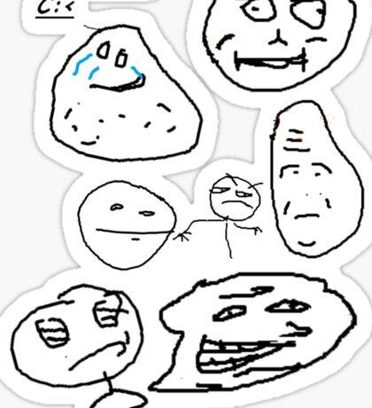 Rage Faces - Faan Awrt Sticker