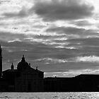 Clouds over Venice by Giulio Bernardi