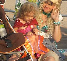 Mom and Little Mermaid by Bernadette Claffey