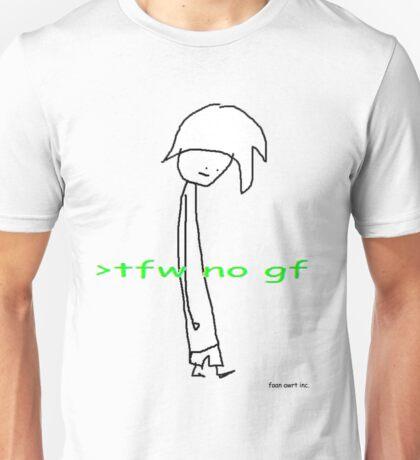 Tfw no gf - Faan Awrt Unisex T-Shirt