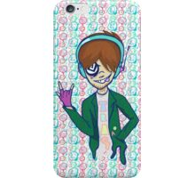 Rock On Jackie boy! Alt Trippy Design iPhone Case/Skin