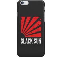 Black Sun T-Shirt iPhone Case/Skin