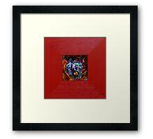 YIN Framed Print