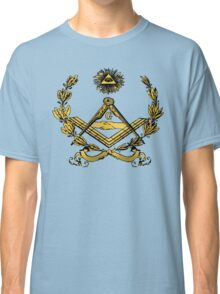 Seal of Masonry in color Classic T-Shirt