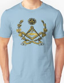 Seal of Masonry in color T-Shirt