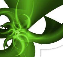 Green Horn Sticker