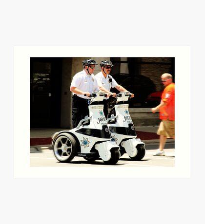 Robo Cops? Art Print
