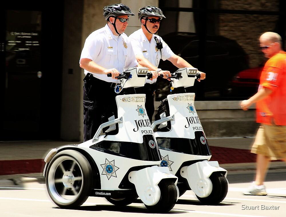 Robo Cops? by Stuart Baxter