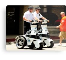 Robo Cops? Metal Print