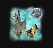Wolves Shiney Grim Moon 03 Unisex T-Shirt