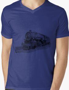 Locomotive Mens V-Neck T-Shirt