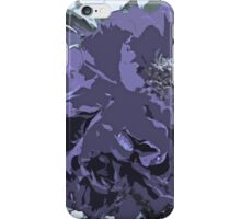 Soft Tone Floral Abstract Lavender iPhone Case/Skin