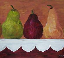 Pears on Parade by EloiseArt