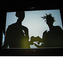 Playing with Digital Shadows - Photo by Angie Mulligan