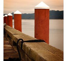 Red Piers by Nikella