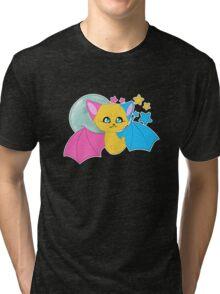 Pansexual Pride Bat Tri-blend T-Shirt