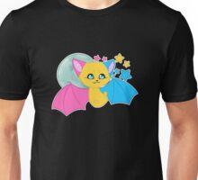 Pansexual Pride Bat Unisex T-Shirt