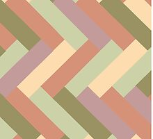 Beach Colors Rectangle Pattern by Greenbaby