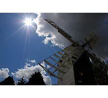 Sunset at Cromer Windmill Photographic Print