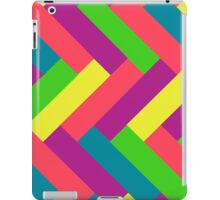 Juicy Tropical Colors Rectangle Pattern iPad Case/Skin