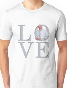 Love with Pope Francis Unisex T-Shirt
