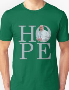 Hope with Pope Francis Unisex T-Shirt