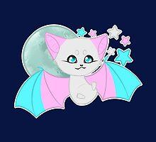 Transgender Pride Bat by joyfullyironic