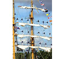 Sail 2010 - KRI Dewaruci  Photographic Print