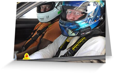 Guess who goes racing?! by Susana Weber