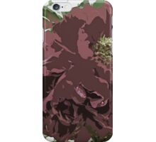 Muted Tone Flowers Abstract iPhone Case/Skin
