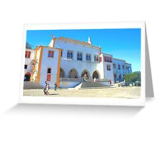 Sintra. Palácio da Vila Greeting Card
